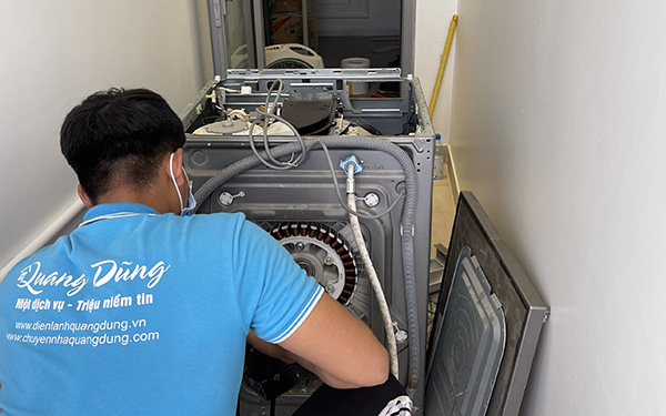 sửa lỗi máy giặt hitachi